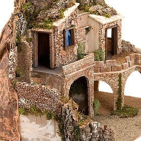 STOCK - Grotta presepio con fontana 70X50X37 s4
