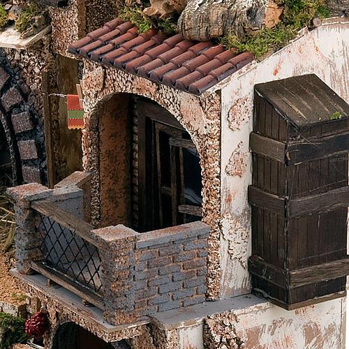 STOCK - Grotta presepi con fontana 80X70X60 6