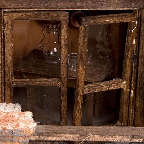 STOCK - Grotta presepi con fontana 80X70X60 7
