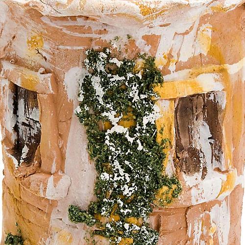 Coppo terracotta Natività bue e asinello 2
