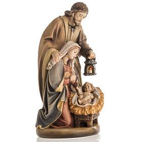 Nativité bois peinte mod. Sainte Nuit, Val Gardena s2