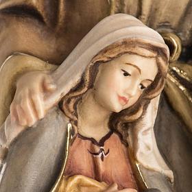Nativité bois peinte mod. Sainte Nuit, Val Gardena s5