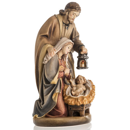 Nativité bois peinte mod. Sainte Nuit, Val Gardena 2