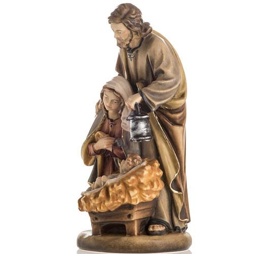 Święta Rodzina drewno malowane Val Gardena model Święta Noc 3