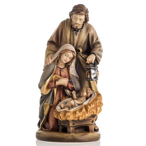 Natividade madeira pintada Val Gardena mod. Noite Santa 1
