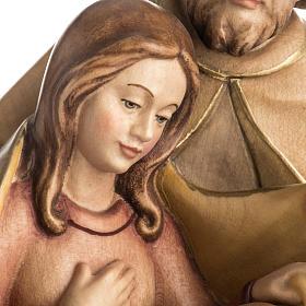 Natività della pace legno dipinto Val Gardena s3