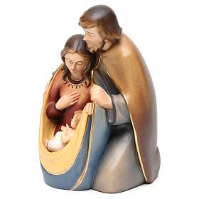 Święta Rodzina drewno malowane Val Gardena model Pokój s3
