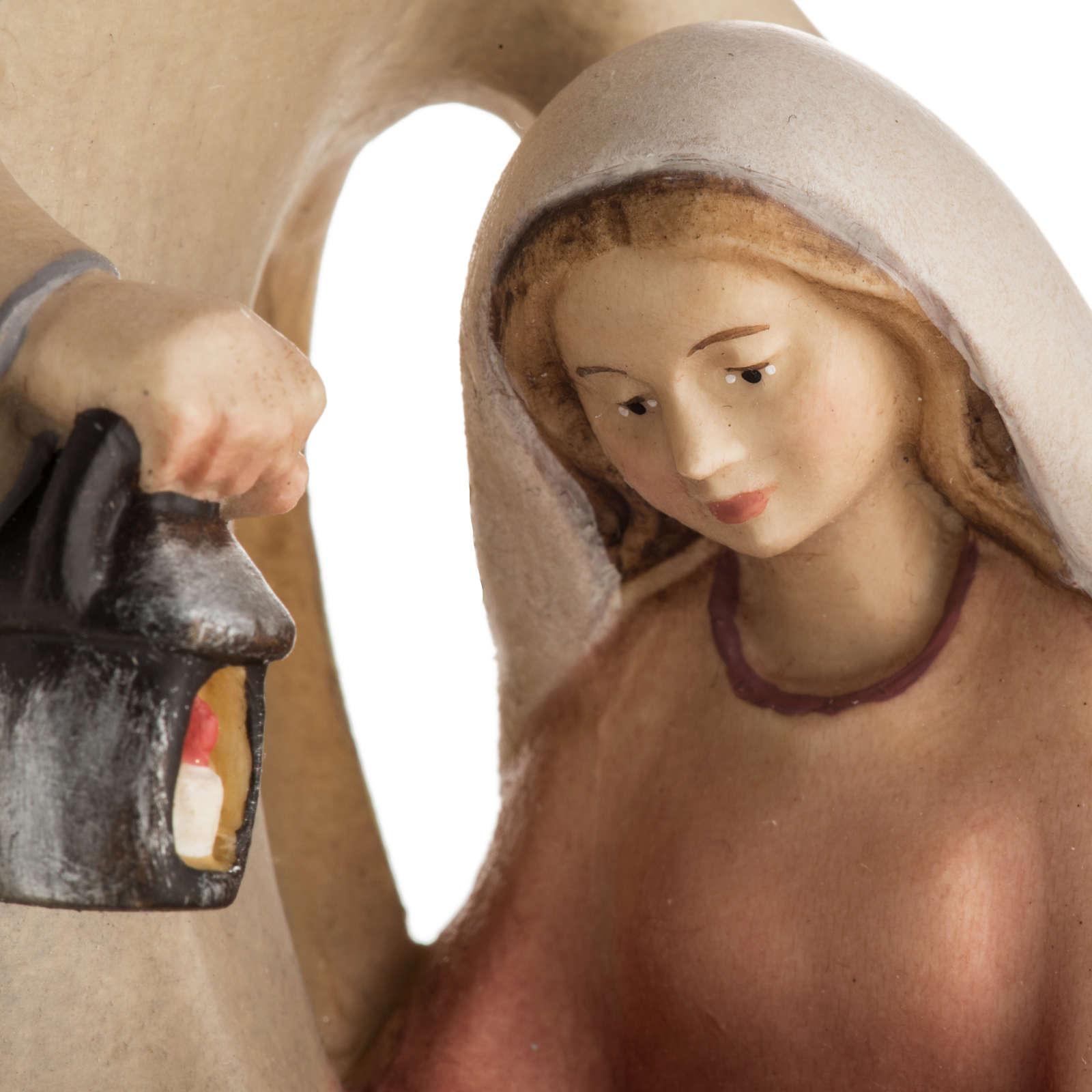 Nativité bois mod. Leonardo Val Gardena 3