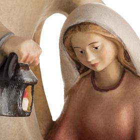 Nativité bois mod. Leonardo Val Gardena s3