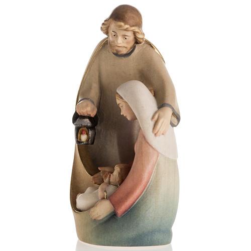 Nativité bois mod. Leonardo Val Gardena 5