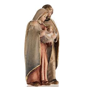 Natividad de pie madera pintada Val Gardena s2