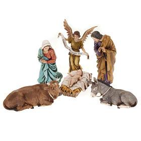 Nativité Moranduzzo avec ange ânon et boeuf s1