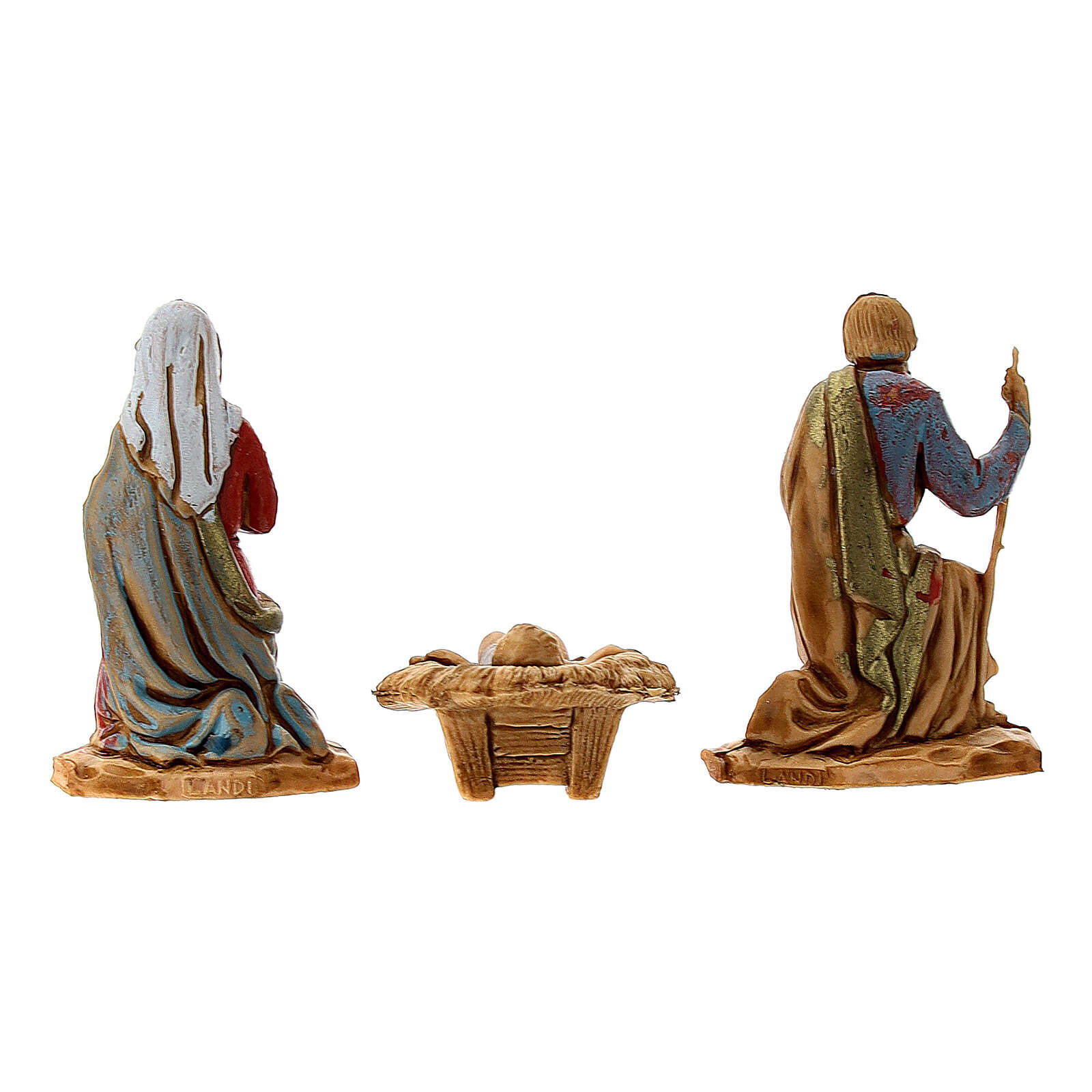 Nativity set, Holy family Moranduzzo 3.5 cm 4
