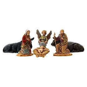 Nativity set, Holy family Moranduzzo 3.5 cm s1