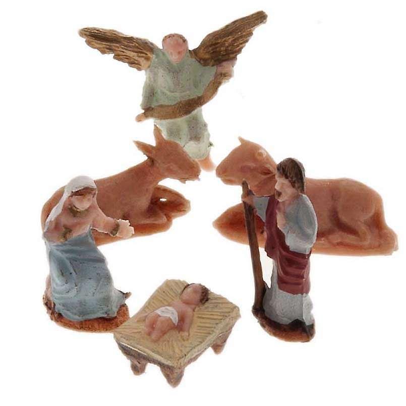Natività miniatura 2 cm resina Moranduzzo 3