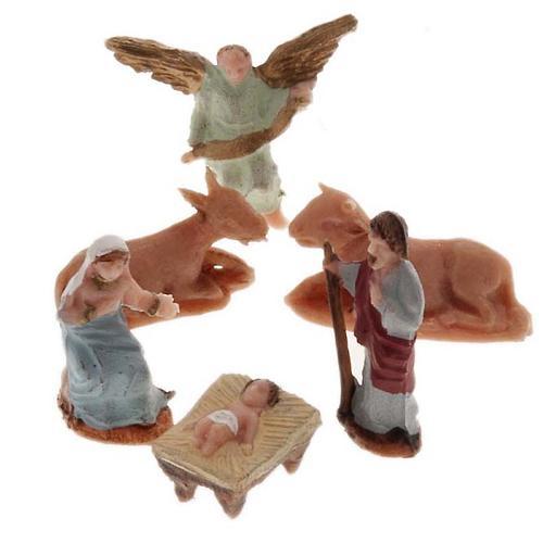 Natività miniatura 2 cm resina Moranduzzo 1
