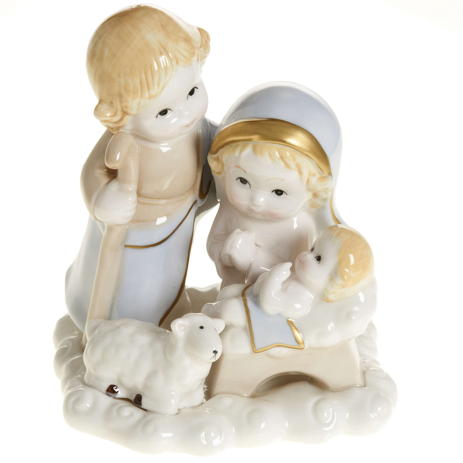 Stylized Holy family, 14 cm 3
