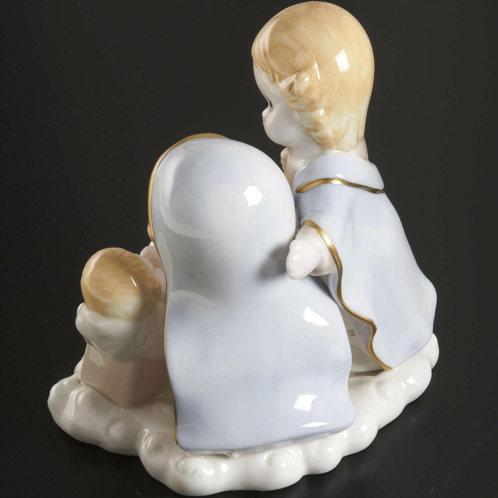 Natività ceramica 14 cm 3