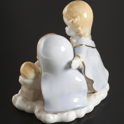 Natività ceramica 14 cm 4