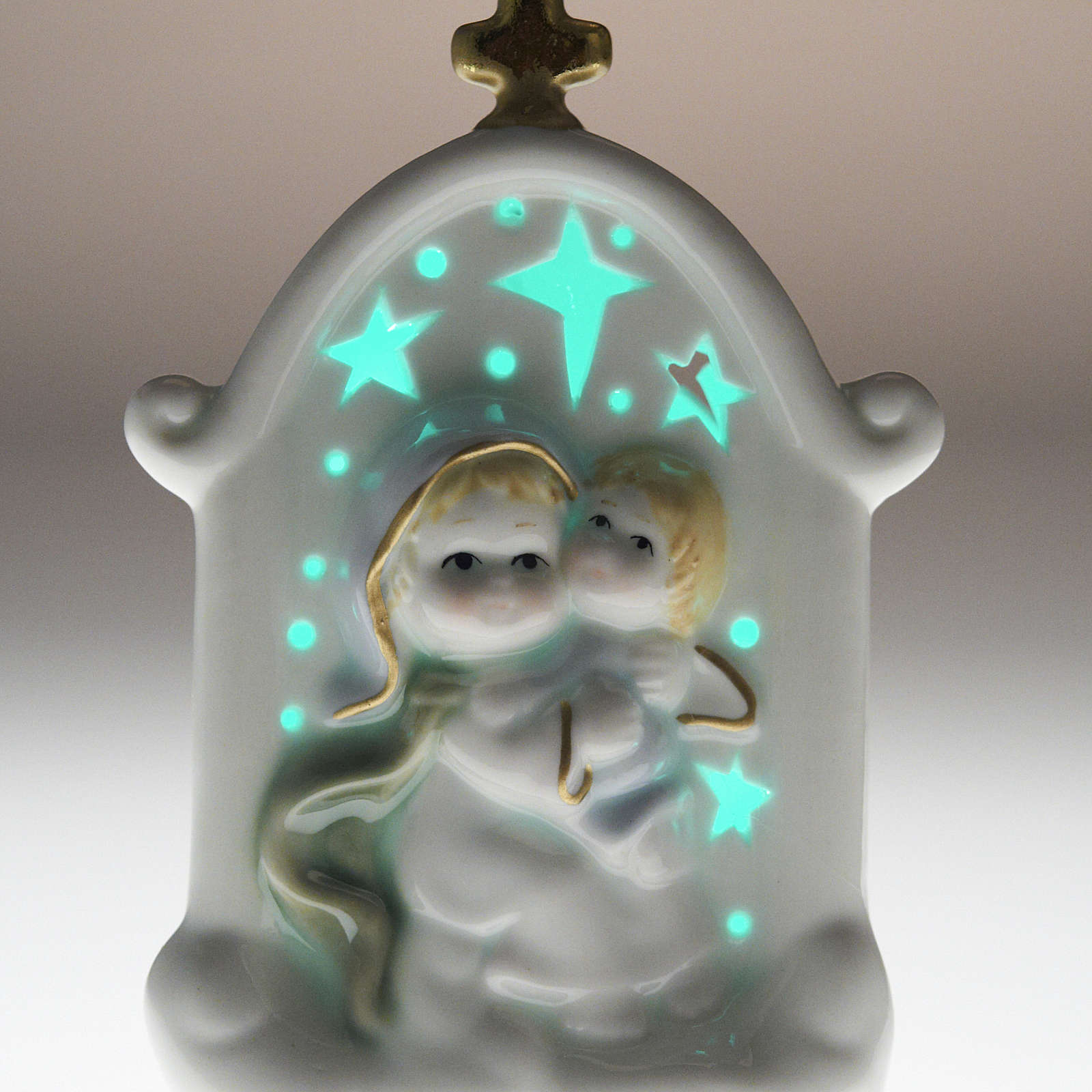Virgen con niño cerámica 3