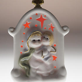 Virgen con niño cerámica s5