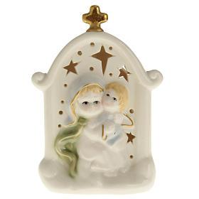 Vierge et enfant Jésus cadre céramique s1