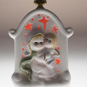 Vierge et enfant Jésus cadre céramique s5