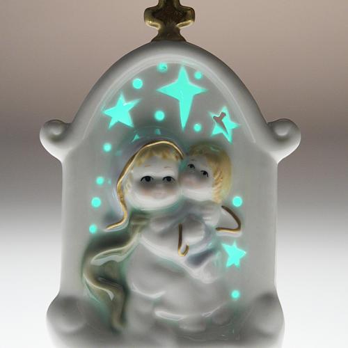 Vierge et enfant Jésus cadre céramique 6