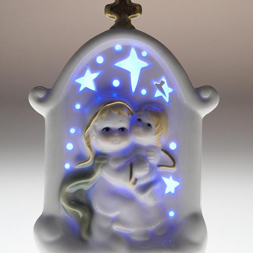 Vierge et enfant Jésus cadre céramique 7