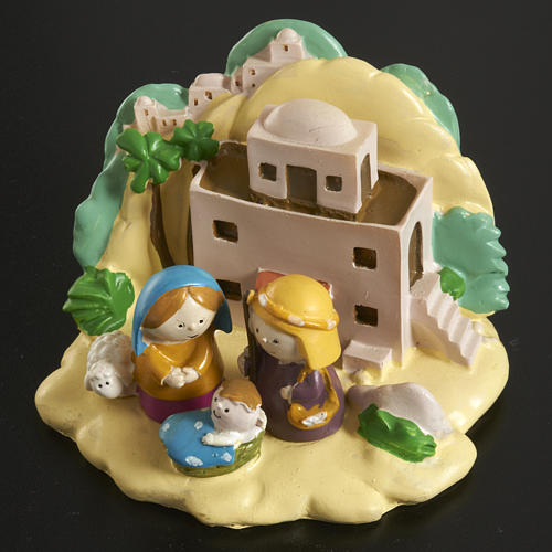 Nativity with landscape 2