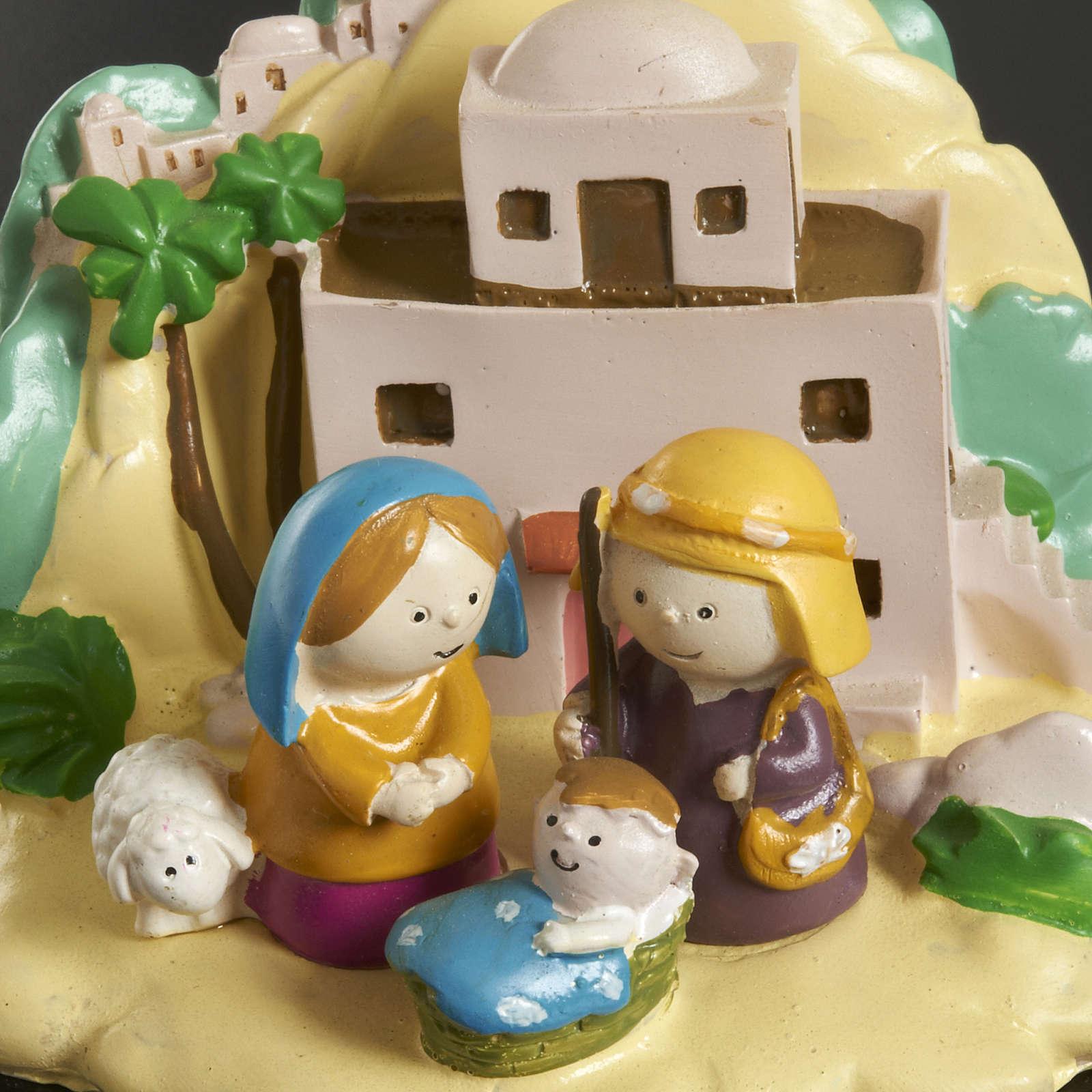 Nativity with landscape 3