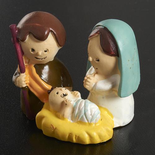 Natività bambini 3 cm resina 2