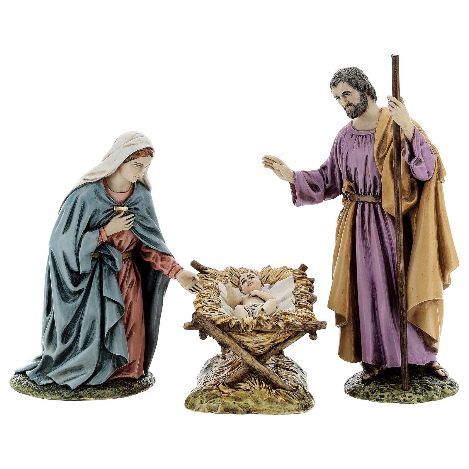 Holy Family by Landi, 18 cm 3