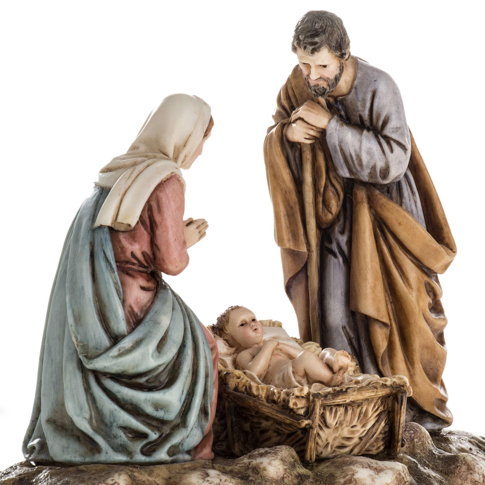 Nativité Landi sur base 11 cm 3