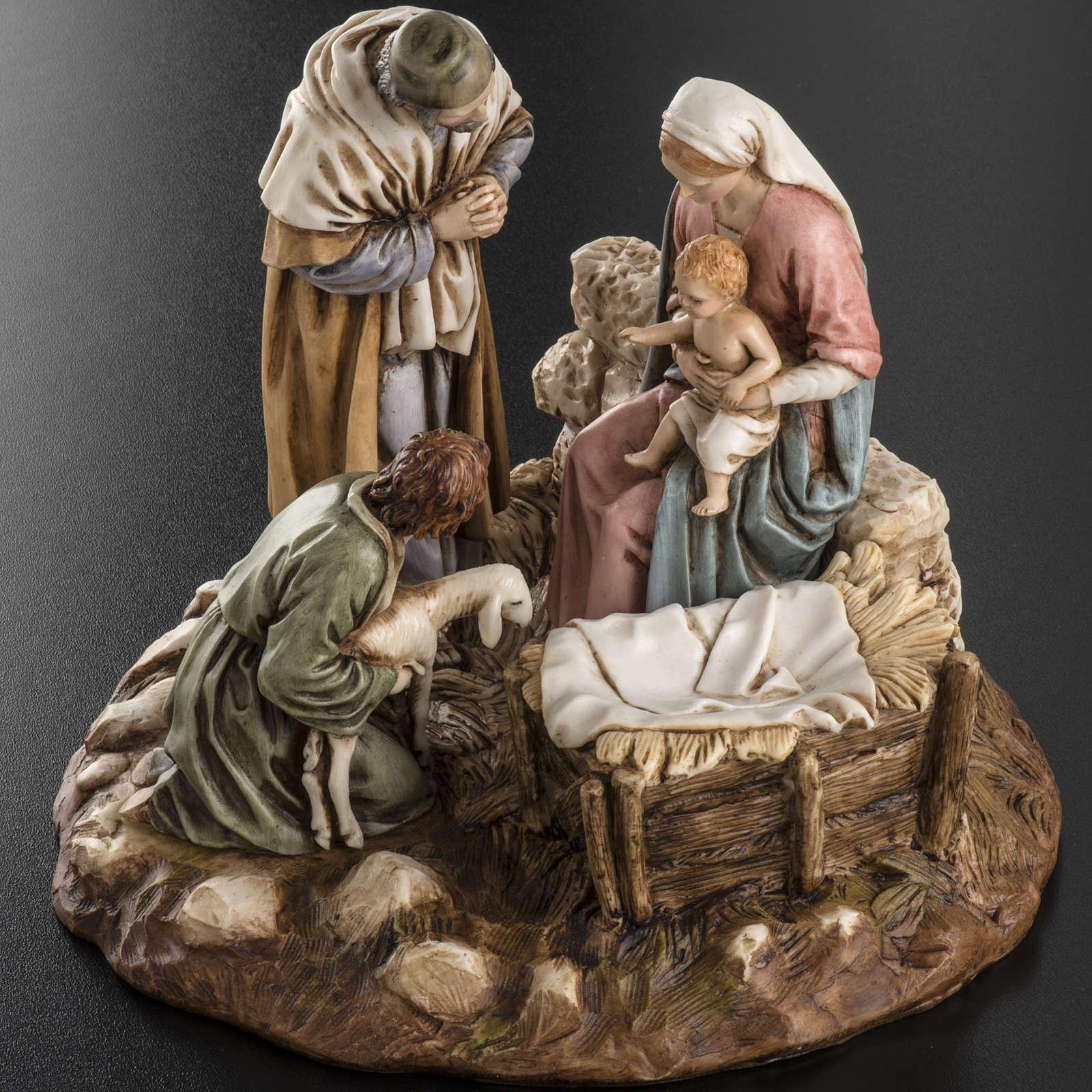 Nativity on base by Landi, 16 cm 3
