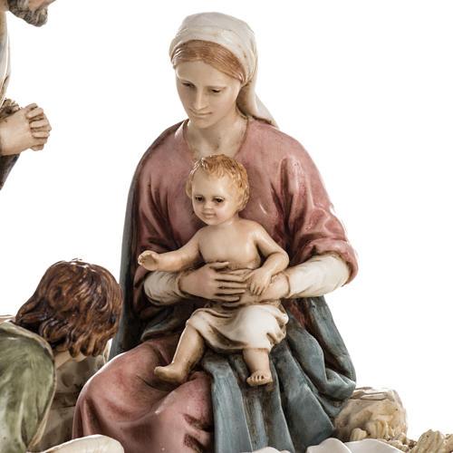 Nativity on base by Landi, 16 cm 2
