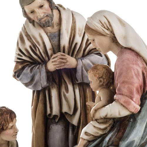 Nativity on base by Landi, 16 cm 4