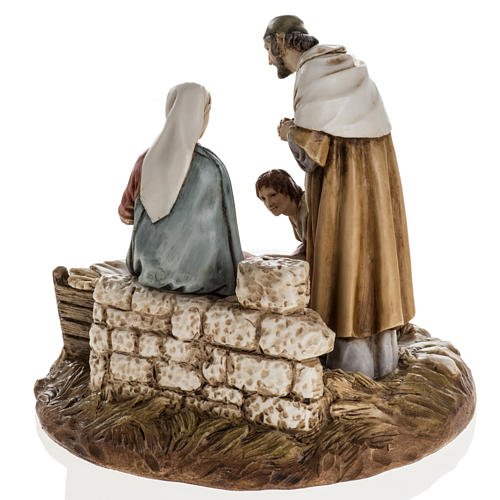 Nativity on base by Landi, 16 cm 6