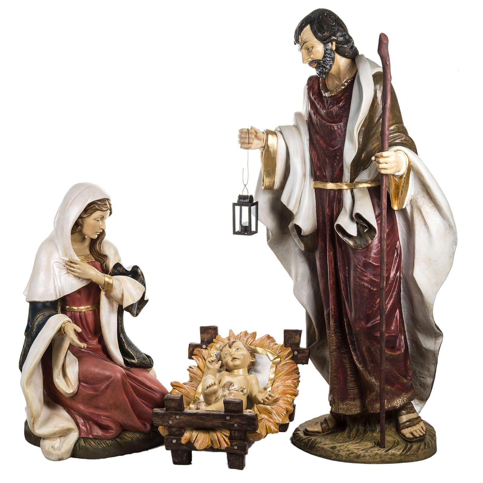 Sainte Famille 180 cm résine Fontanini 3