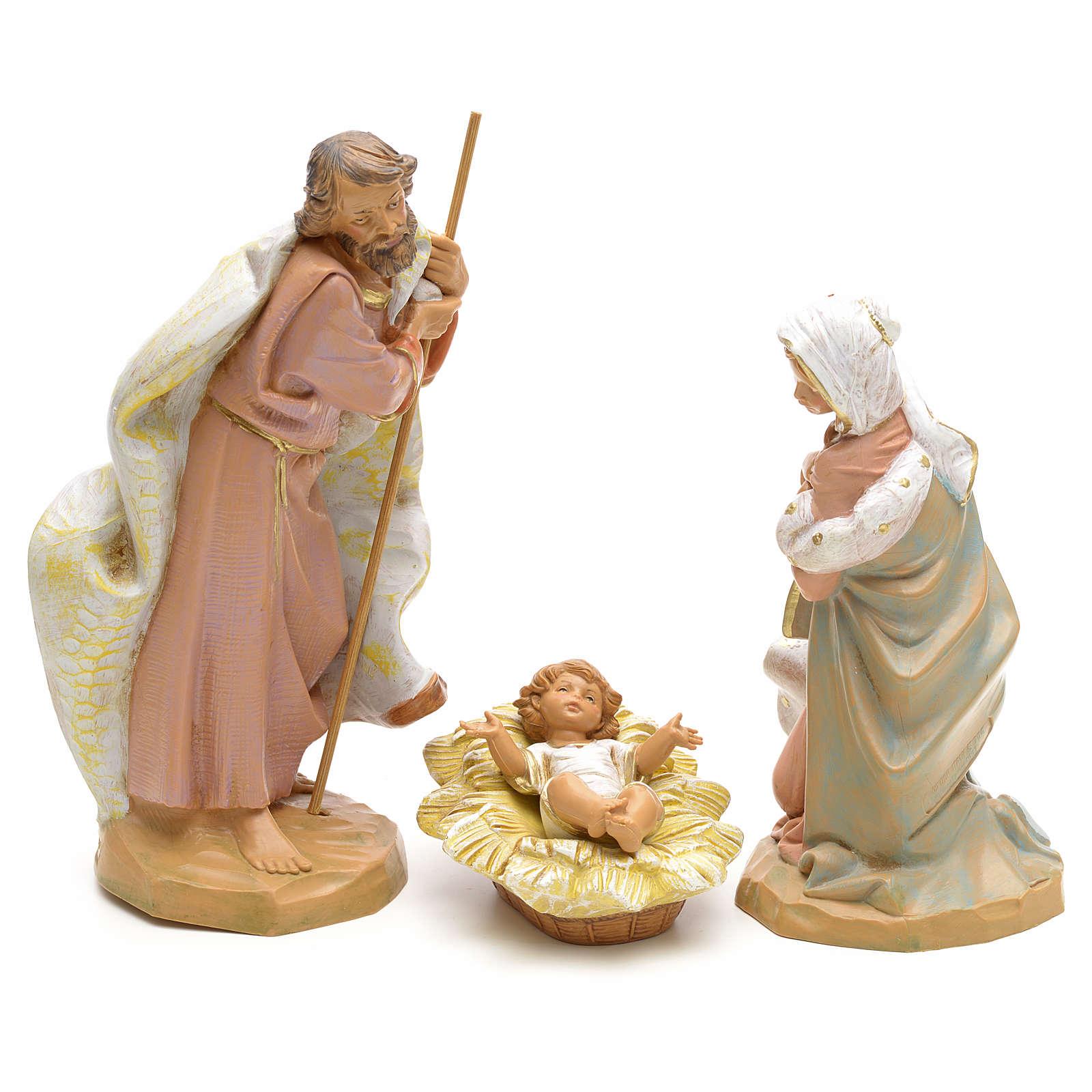 Sainte Famille crèche Fontanini 19 cm 3