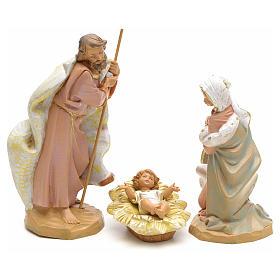 Sainte Famille crèche Fontanini 19 cm s1