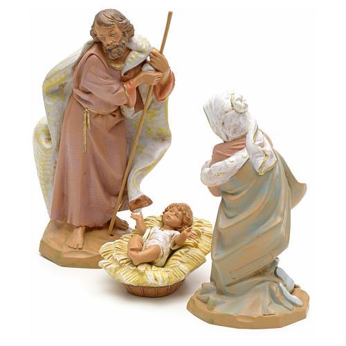 Sainte Famille crèche Fontanini 19 cm 2