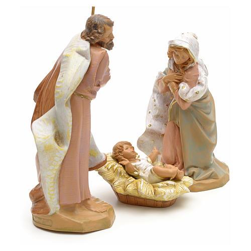 Sainte Famille crèche Fontanini 19 cm 4