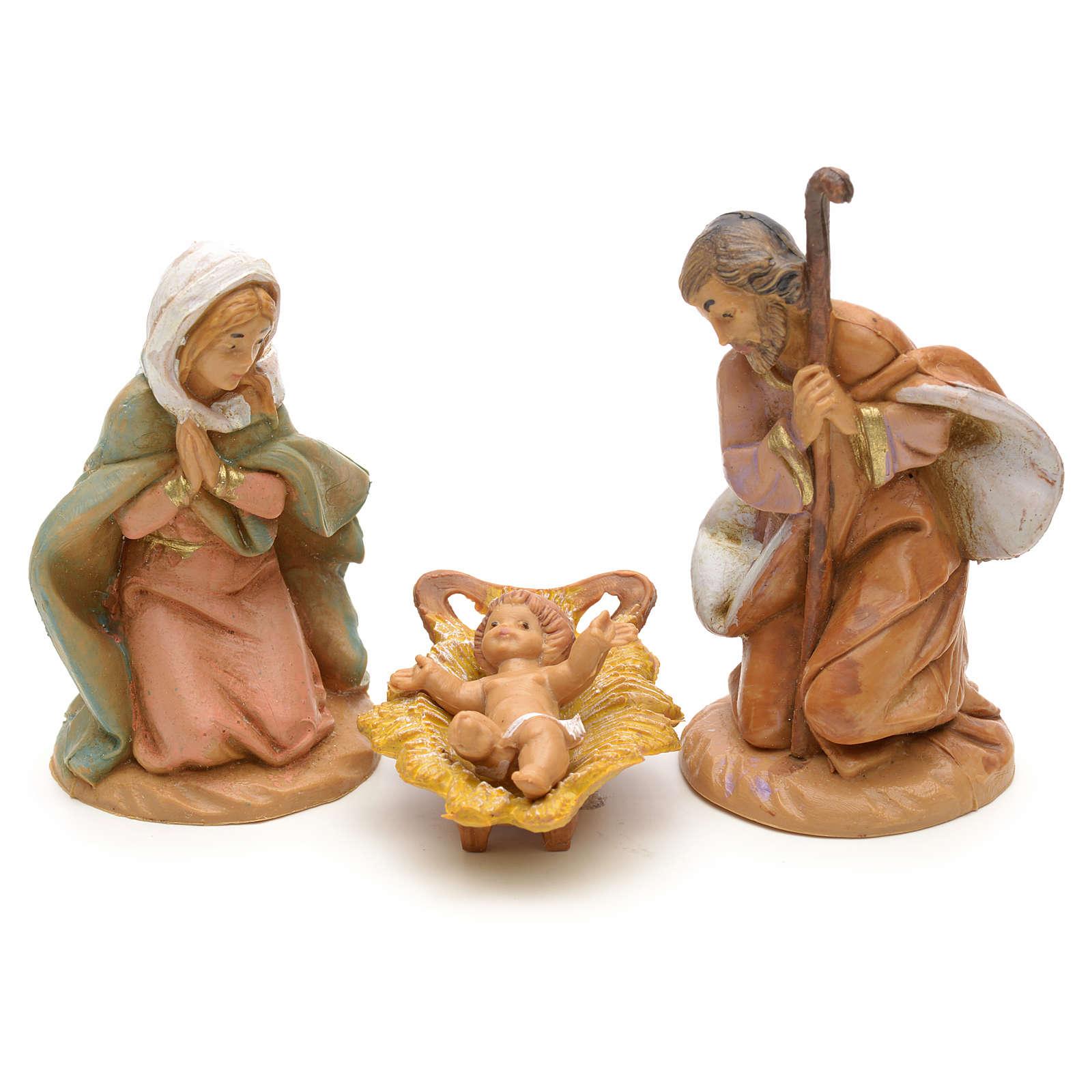 Sainte Famille crèche Fontanini 6,5 cm 4