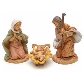 Sainte Famille crèche Fontanini 6,5 cm s1