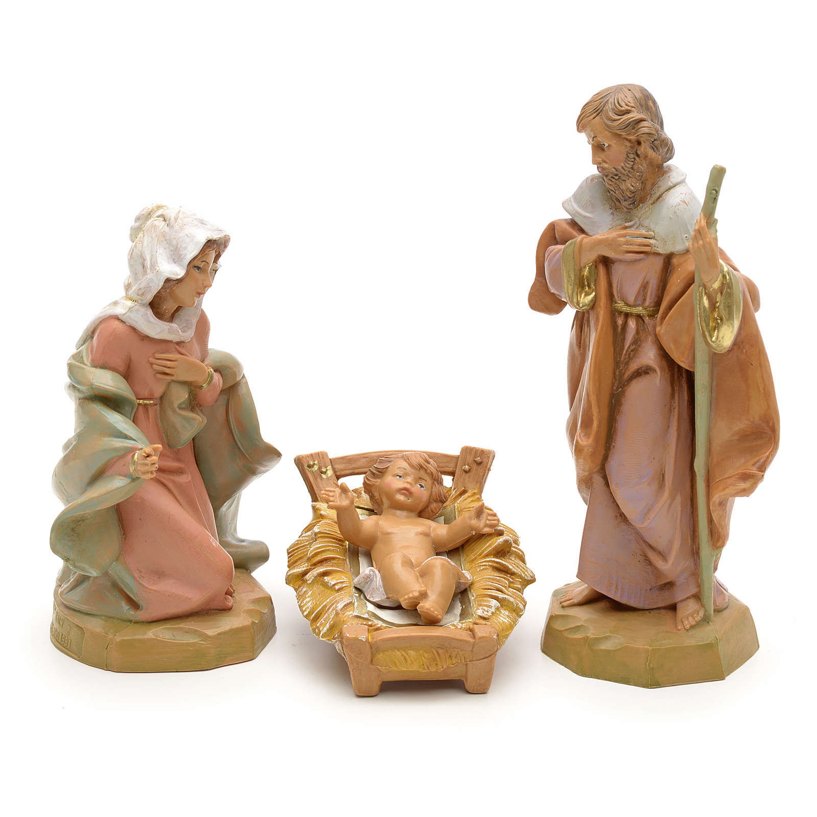Sainte Famille crèche Fontanini 12 cm 3