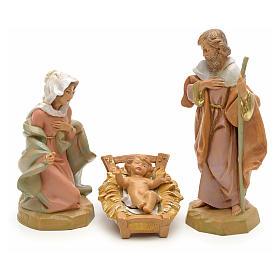 Sainte Famille crèche Fontanini 12 cm s1