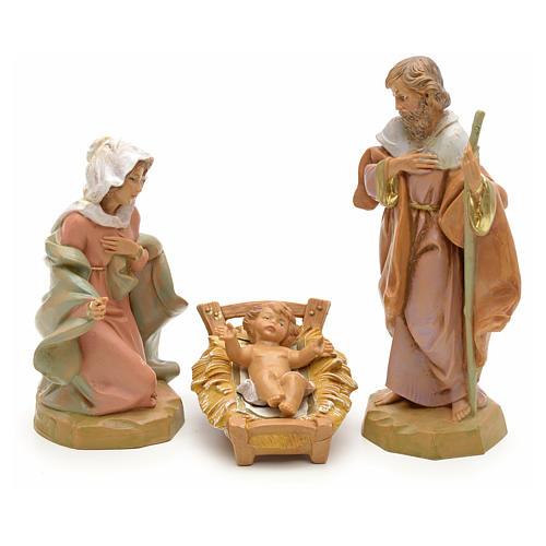 Sainte Famille crèche Fontanini 12 cm 1