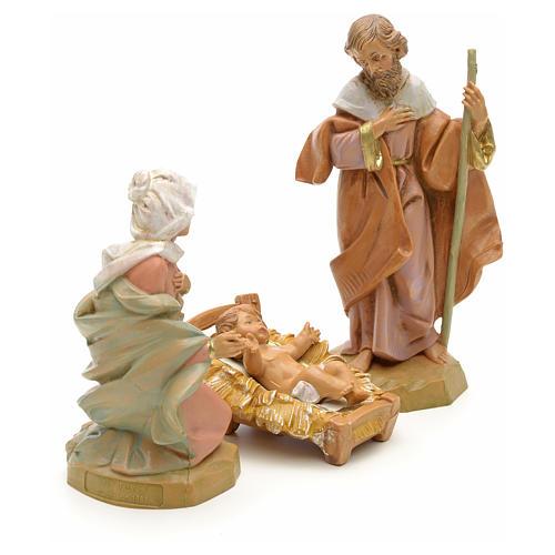 Sainte Famille crèche Fontanini 12 cm 4