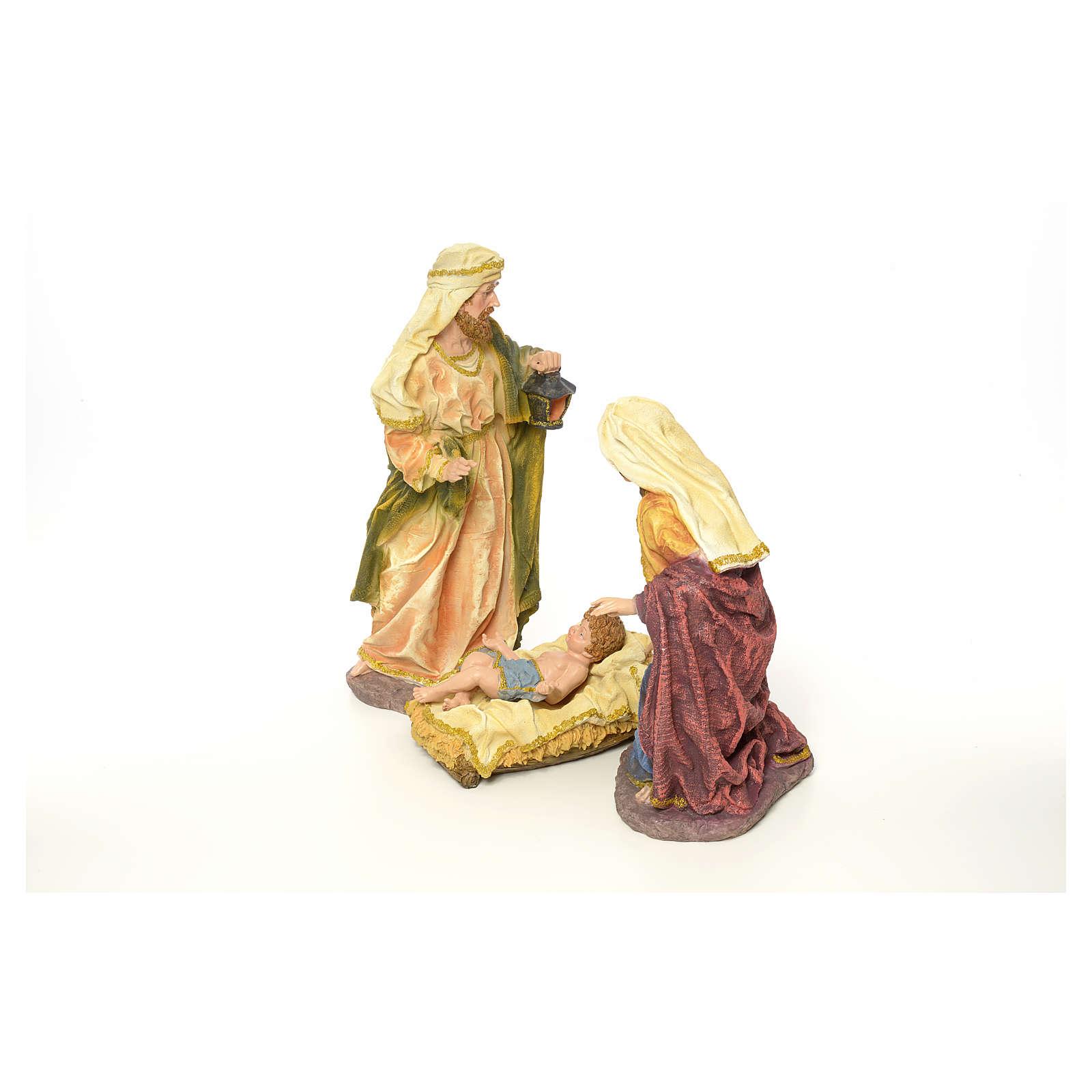 Nativity in resin, 63 cm 3